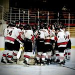 The Marquette Redmen Hockey team faced off against the Houghton Gremlins.
