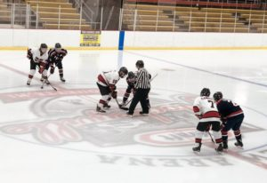 The Marquette Redmen face-off against the Bay Reps on Saturday, December 15th, 2018 on 97.5 GTO-FM