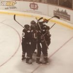 The Marquette Redmen Hockey team played on 103-FXD tonight as Big Game of the Week.