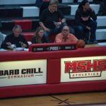 Tonight the MSHS Gym was dedicated to Barb Crill.