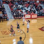 The Marquette Redettes were racking up the three pointers tonight.