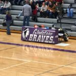 The Marquette Redettes were playing at the home of the Gladstone Braves