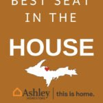 Win the Ashley HomeStore Best Seat in the House Giveaway in Marquette, MI