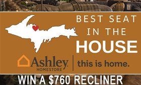 Win a $760 Recliner from Ashley HomeStore