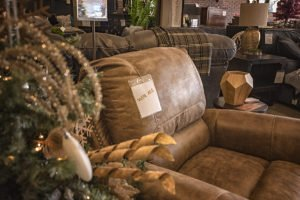 Win this Larkinhurst Recliner from Ashley HomeStore Marquette!