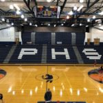 The beautiful Petoskey High School court.
