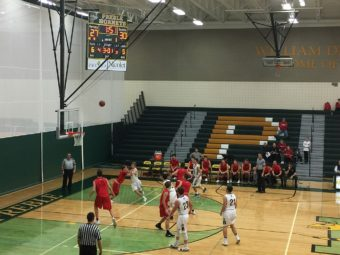 The Marquette Redmen were on the road against Green Bay Preble.