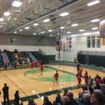 The Redmen prepare to take on the Hornets.