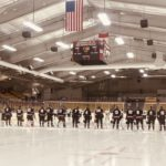 The Marquette Redmen line up.