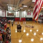 The Redmen had a fantastic showing against the Eskymos in their newly renovated gym.