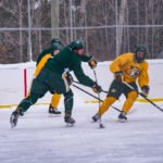It was great to see the team enjoying some time on an outdoor rink.