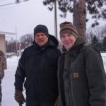 Todd Noordyk and Randy Girard of Marquette Charter Township.