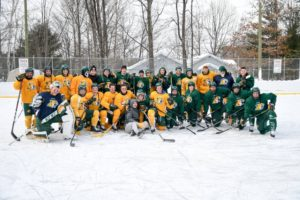 Thank you Northern Michigan University Wildcats Hockey Team for playing today.