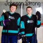 Today's game was played in honor of the Johnson Family.