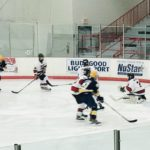 The Redmen faced a strong opponent in Gross Pointe South.