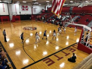 The Redettes won 68-35 over the Copper Kings tonight.