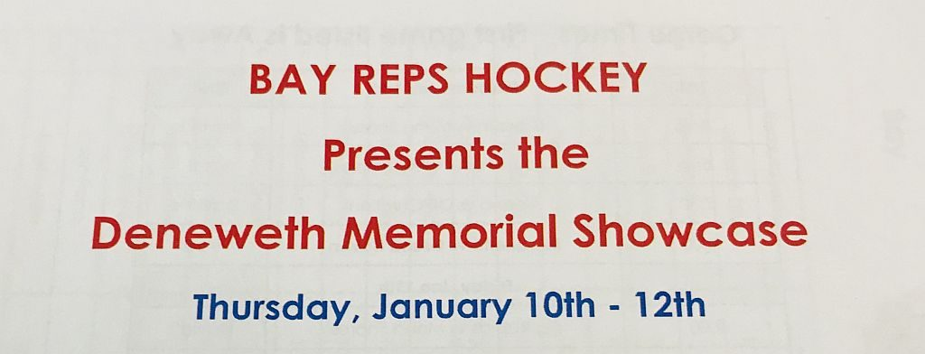The Marquette Redmen are at the Bay Reps Hockey tournament this weekend.