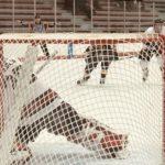 It was a shutout game for goalie Brennen Hakkola