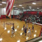 The Redmen won 67-49 over the Flivvers tonight.