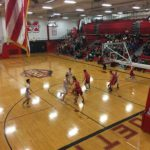 The Redmen took control of the game in the second half.