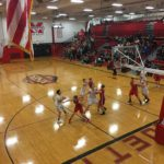 The Redmen beat the Patriots at home.