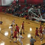 The Redmen improved to 10-3 overall with their win tonight.