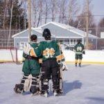 The NMU Club Hockey Goalies.