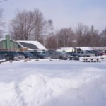 The parking lots were packed on both sides of the park!
