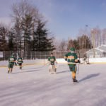 Thanks to the NMU Club Hockey Team for filling in!