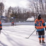 The Marquette Mutineers were ready to claim another win on Lions Field Ice Rink.
