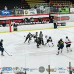 The opening face off