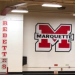 The Redettes play on Fox Sports Marquette 105.1 & 99.9, GTO 97.5 and 103.3 WFXD