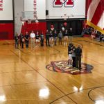 It was Senior Night for the Redettes.