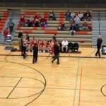 The Redettes offensive game was on fire tonight.