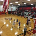 The Marquette Redmen hosted the Gladstone Braves.