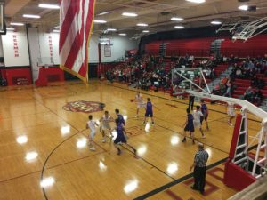 The Redmen played a great offensive game tonight.