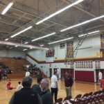 The Menominee Maroons hosted the Marquette Redmen tonight on Fox Sports Marquette 105.1-99.9 and 103 FXD.