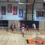 Escanaba hosted the Redmen tonight.