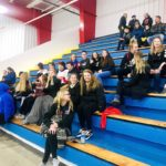 More of the Marquette Redmen's fans