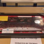 A signed Red Wings photo was part of tonight's raffle.