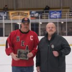 Jeff Haile took home the Gordon Balbierz Memorial Unsung Hero Award