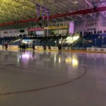 The lights go down before the puck drops!