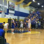 Grazulis at the line.