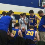 Midland Chemics huddle.