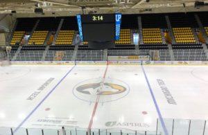 A few hours before the NMU-MTU hockey game.