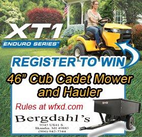 Win a Cub Cadet Mower and Hauler