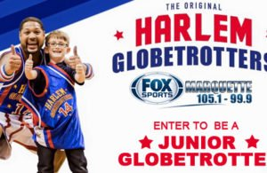 Put your kids on the bench with the Harlem Globetrotters!
