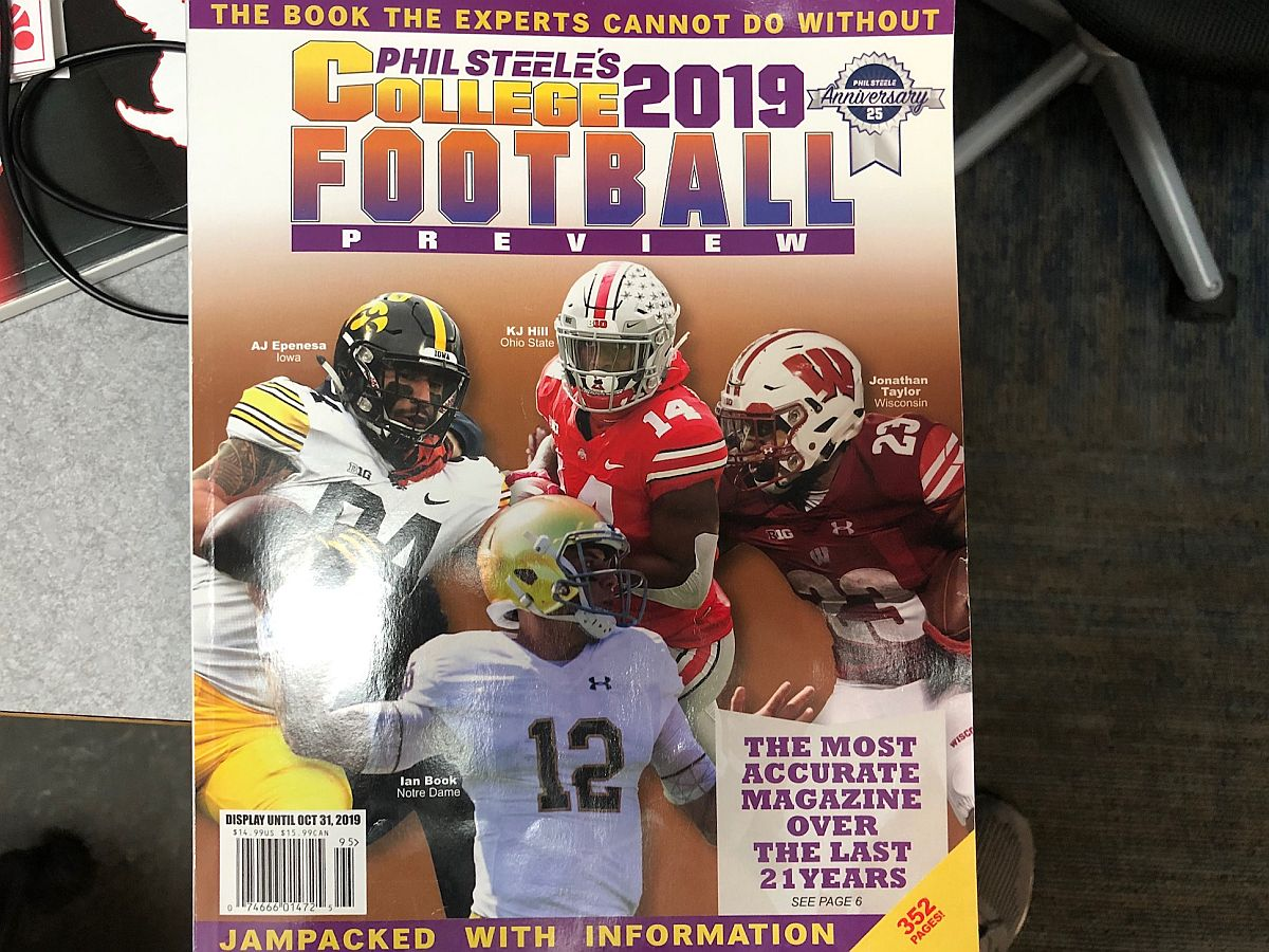 The Sports Drive: Phil Steele Joins the Sports Drive to Talk College