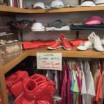 Ladies, save on some new golf apparel. Check out the hanging rack in the Pro Shop.