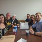 The Landmark crew Kristen, Steve, Jill, and Nick!